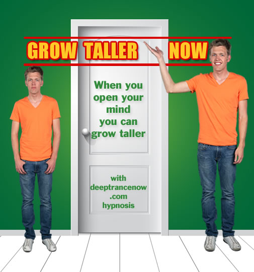 Grow Taller Now - Height Increase with Hypnosis