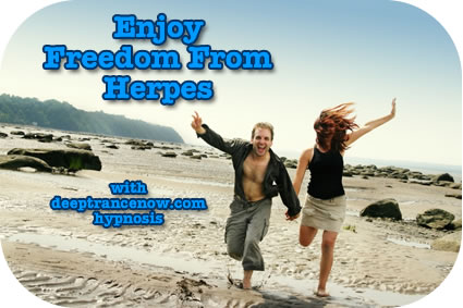 Herpes Relief with Hypnosis and Healing Oil
