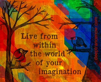 Live from within the world of your imagination