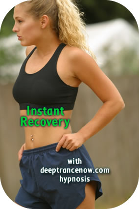 Instant Sports Recovery hypnosis
