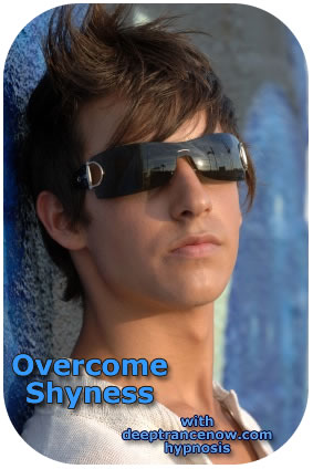 Overcome Shyness with Hypnosis, subliminal, supraliminal and supraliminal plus CDs and mp3s