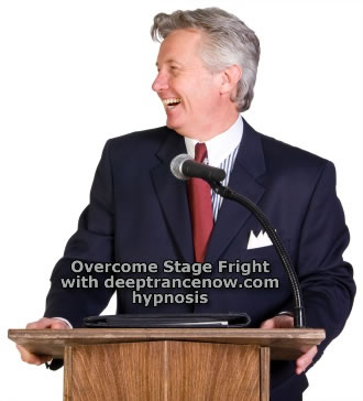 Overcome Fear Of Public Speaking with Hypnosis