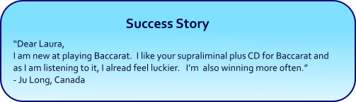 Baccarat hypnosis mp3 download success story
