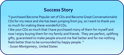 Become Popular Hypnosis CDs and mp3 downloads success story