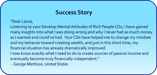 Develop Mindset of Rich People Hypnosis CDs and mp3 Downoads
